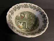 Johnson Brothers Merry Christmas 8 1/4 Round Vegetable Bowl Excellent Con