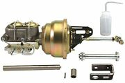 53 54 55 56 Ford F100 F-100 Truck 7 Dual Brake Booster Under Mount Bolt In Kit