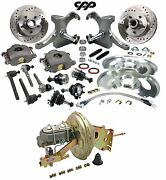1967-72 Chevy C10 Pickup Truck 5 Lug Drop Spindle Booster Conversion Kit Drilled