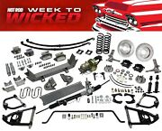 55-59 Chevy 1/2 Ton Truck Ultimate Performance Package Mustang Ii Ifs Conversion