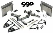 62-65 Chevy Nova Ifs Mustang 2 Front End Crossmember Tubular Arms Fender Panels