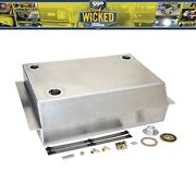 1963-72 Chevy C10 Gmc Pickup Truck Aluminum Bed Fill Fuel Gas Tank Kit Carb Efi
