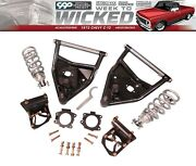 1971-87 Chevy C10 Pickup Front Coil Over Lowering / Drop Tubular Conversion Kit
