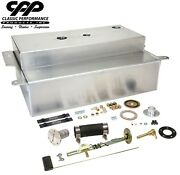 1955-59 Gmc Chevy Truck Aluminum Bed Fill Gas Tank Efi Carb + Filler Kit 30 Ohm