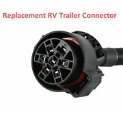 Replacement Truck Connector 7 Way Round Trailer Pigtail Wire Harness Fits Ford