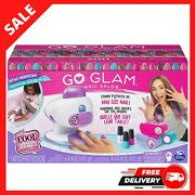 Cool Maker Gift Go Glam Nail Stamper Salon For Manicures And Pedicures, 5 Patter