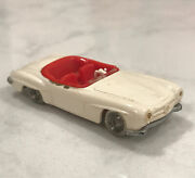 Lego Ho Scale Vintage Classic 1960's Mercedes 190sl Extremely Rare White W/ Red