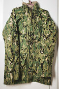 Us Navy Nwu Gore-tex Parka Type Iii Aor2 Us Size Small Extra Long + 3 Hats