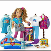 American Girl Courtney Moore Ultimate Collection Care Bears And Pac Man