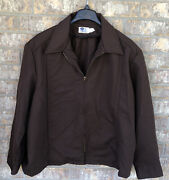 Vintage Jacket Frito-lay And Patch 52 In Long Brown