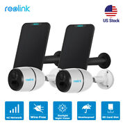 Reolink 100 Wire-free 4g Network Mobile Security Camera Battery Solar Powered