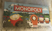 Rare Factory Sealed South Park Monopoly Collectors Edition Oop Out Of Print Vhtf