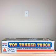 Vintage 1997 Citgo Toy Tanker Truck In Box Collectible