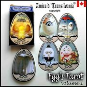 Egg Eggs Art Tarot Card Cards Deck Tell Fortune Telling Rare Vintage Oracle Set