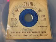 Harlem Globetrotters Autographed 45 Signed 1950s Negro League Players Bob Hall++
