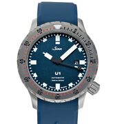 Sinn Diving Watches 1010.0102-silicone-iitc-fcws-lqa-bl Blue Dial Menand039s Watch