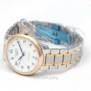 Longines The Longines Master Collection L26285797 Silver Barleycorn Dial