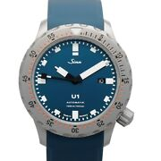 Sinn Diving Watches 1010.0102-silicone-sfc-blue Blue Dial Menand039s Watch Genuine