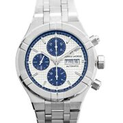 Maurice Lacroix Aikon Ai6038-ss002-131-1 Silver Dial Menand039s Watch Genuine