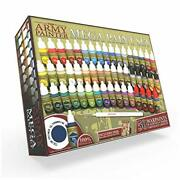 The Army Painter Miniature Painting Kit Mega Paint Set 3 For Model Paints With W