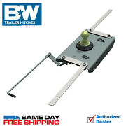 Bandw Turnover Ball Gooseneck Hitch 7500 Gtw Fits 2014-2018 Ram 2500 Direct Fit