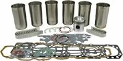 Engine Overhaul Kit Diesel For Ford/new Holland 4000 4100 ++ Tractors