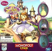 Monopoly Junior Disney Sofia The First Replacement Parts Or Board Game Pieces