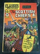 Classics Illustrated 67 The Scottish Chiefs Rare Canadian Variant Gd/vg Porter