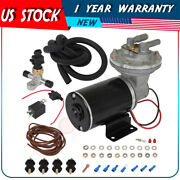 New Brake Booster Electric Vacuum Pump Kit For Brake Systems 18 To 22 12v
