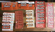 💥huge Lot Of Miscellaneous Early Vintage Moxie Soda Bottles Advertising Labels
