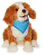 Joy For All -freckled Robotic Comfort And Companion Dog For People Ages 5-105