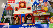 Fisher Price Little People Caring For Animals Farm New Ships Fast