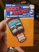 1973 Kooky Patches None A Day In Unopened Pack A Wacky Packages Spin Off
