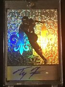2012 Leaf Valiant Draft Rookie Ty Hilton Black And Gold Auto 2/5 Rc Colts