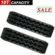 Recovery Boards Traction Tracks Sand Mud Snow Off Road Tire Double Ramp Design