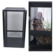 Large Tank Cage Reptile Pet Enclosure Lizard Spider Insect Snake Mesh Screen Usa
