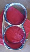 1967 Ford Galaxie 500 And Xl, Left Side Only, Chrome Headlight Bezel Oem