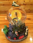Rarest Disney Nightmare Before Christmas Nbx Snowglobe Tags New And Perfect Works