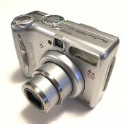 Canon Powershot A540 6.0mp Digital Camera - Silver Tested Working
