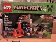 Brand New Lego Minecraft 21113 The Cave - Retired