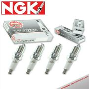 4 X Spark Plugs Ngk V-power For 1986-1988 Nissan Multi 2.0l L4 Exhaust