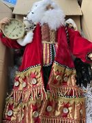 Rare Hard To Find Mackenzie Childs Advent Father Christmas