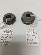 2 Pcs Sold Each Fellows Dathan. Cutters 1/2andrdquo Bore Button Type