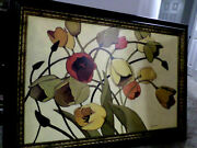 Shirley Novak Oil Canvas Painting And039tulip Tossand039 30x42 Framed
