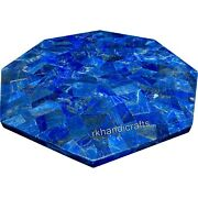 30 Inches Marble Patio Coffee Table Top Hand Crafted Dinette Table Home Assents