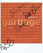 Garbage Band Shirley Manson Buth Vig Signed Photo Genuine In Person + Coa