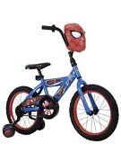 Huffy Spider-man Bike Ideal For Ages 4 To 6 Rider Height 42 To 48 A D15