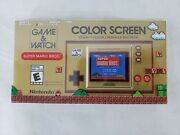 Nintendo Game And Watch Color Video Game - Super Mario Bros - In Hand Ships Now