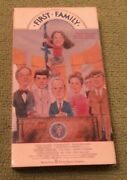 First Family Vhs Comedy Warner Video Tested 1990 Bob Newhart Korman Willard