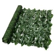 20xartificial Faux Ivy Leaf Privacy Fence Screen Garden Panels Outdoor
